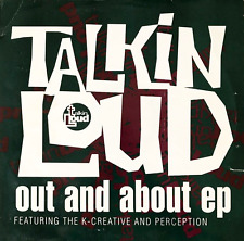 """PERCEPTION/THE K-CREATIVE - Out And About EP (12"""") (VG-/G)"""