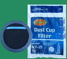 1 Eureka DCF-25 Washable Foam Filter Upright Vacuum Airspeed Suction Seal 829821