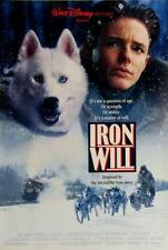 IRON WILL 27x40 D/S Original Movie Poster One Sheet DISNEY ROLLED 1994
