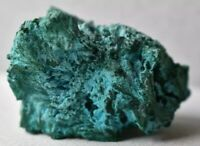 BLUE CHRYSOCOLLA WITH GREEN MALACHITE SPECIMEN CRYSTAL STONE FROM CONGO