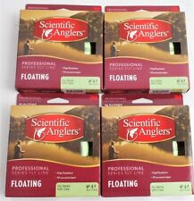 Lot of 4 Spools Scientific Anglers Professional #8 Weight Floating Fly Line New