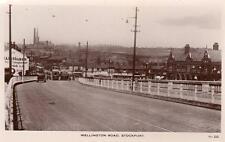 Stockport Wellington Road unused RP old PC Jas. & L Thorley Good