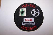 IRS CID CHICAGO TOG PATCH