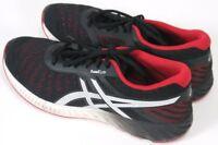 Asics FuzeXlyte $90 Men's Running Shoes Size 13 Black & Red