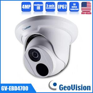Geovision GV-EBD4700 PoE IP Turret Eyeball Camera Ultra HD 4MP Outdoor Security