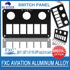 FOR ARB Carling Car Boat 6Way Aluminum Rocker Switch Panel Housing Patrol Holder
