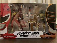 Power Rangers ZEO GOLD & DRAGON ARMOR RED Ranger SDCC 2019 Lightning Collection