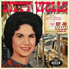 """7"""" KITTY WELLS Hey Joe / My Cold Cold Heart Is Melted Now DECCA Country USA 1953"""