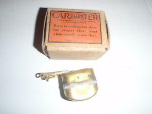 NOS Brass Carburetor Float 1947 Kaiser & 47 Frazer with # 574s CARTER W1 carb