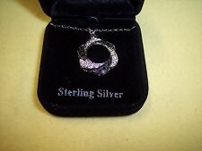 "Sterling Silver Necklace  18"" Long"