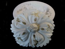 ORNATE FLOWER HEAD SILICONE RUBBER MOLD FIRE PLACE FURNITURE PROJECTS