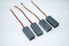 "4 pcs Carbon Motor Brushes. 1"" x 7/16"" x 5/16"" 8mm x 11mm x 25mm  A452"