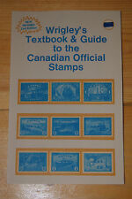 Weeda Literature: Wrigley's Textbook & Guide to Canadian Official Stamps 2nd ed.