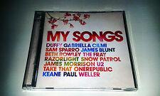 MY SONGS 2CD feat. U2 ORB JAMES BLUNT LAMB 4HERO JOSE GONZALEZ ETC.