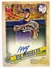 2018 Topps Gypsy Queen Alex Verdugo AUTO RC #'d /99 Logo Swap SP DODGERS