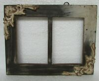 Vintage Old Style Twice Picture Photo frame, Collectible
