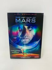 The Last Days On Mars DVD 2014 Rated R Liev Schreiber Slipcover Free Shipping