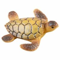 Mini Sea Turtle Model Resin Figurines Fairy Garden Miniatures Fish Tank X3B6