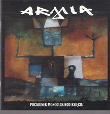 ARMIA - POCALUNEK MONGOLSKIEGO KSIECIA 2CD 2003 TOP RARE OOP CD POLSKA POLAND