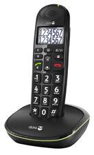 Doro PhoneEasy 110 Schwarz DECT Eco Modus Schnurlostelefon Strahlungsarm NEU OVP