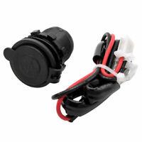 12V/24V Doppio USB PORTA PRESA ACCENDISIGARI DA AUTO SPINA LED per AUTO BARCA IT