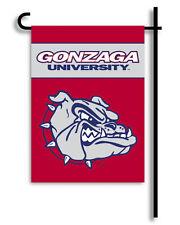 "Gonzaga 13"" x 18"" Two Sided Garden Flag NCAA Licensed"