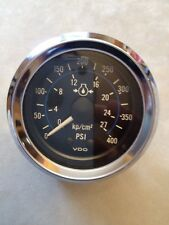 VDO 400 psi Mech. Transmission Oil Pressure Gauge~Diesel~Boat~Motorhome~Truck