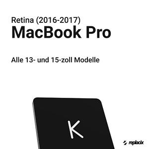 """Ersatztaste MacBook Pro Retina 13"""" 15"""" (2016-2017) A1706/A1707/A1708"""