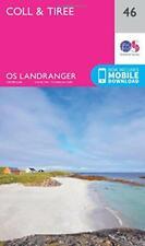 Landranger (46) Coll & Tiree (OS Map) Da Ordnance Survey, Nuovo Libro , F