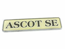 Genuine New Rare AUSTIN ROVER ASCOT SE BOOT BADGE Emblem Metro 100 Series 111