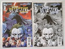 Batman Detective Comics #1 New 52 Sketch Variant and 1st Print DC The Joker