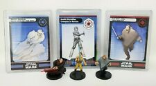 "Wizards Coast Star Wars Miniature Lot of 5 Revenge 501st Clone Trooper 1.5/"" RPG"