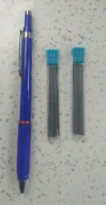 Rotring Rapid Pencil (Blue Barrel)  0.7mm WITH FREE 24x HB  LEADS- FREE POSTAGE