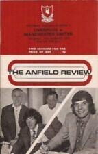 Liverpool Vs Man Utd 72/73 Season - Football Programme
