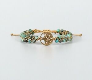 Handmade Braided Bracelet Tree of Life Tibetan Lucky Buddhism Boho Yoga Wrap