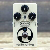 MXR Custom Shop CSP037 Raijin Drive Overdrive / Distortion Effect Pedal w/Box