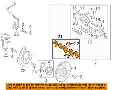 HYUNDAI OEM 2013 Santa Fe Brake-Front Pads 581014ZA00