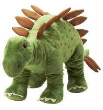 "Ikea Jattelik Dinosaur Stegosaurus Large Soft Stuffed Animal 30"" Plush Toy New"