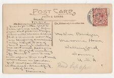 Mr Wm Bridgen Masonic House Wallingford Conn. USA 1924  176a