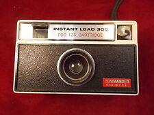 #339 ESTATE FIND, RARE OLD VTG COMMANDER INSTANT LOAD 900, 126 FILM CAMERA