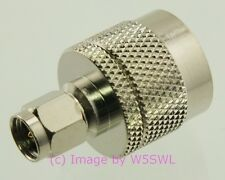 SMA Male to UHF Male Coaxial Adapter Connector - by W5SWL ®