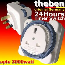 theben Made in GERMANY 24HR mechanical self timer switch 13A 240V automation acc