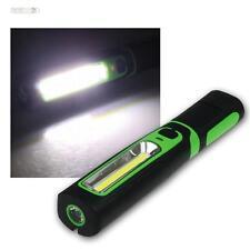BATTERIA PROFESSIONALE LED LAVORO LAMPADA COB 270lm, supporto magnetico, bacchetta lampada flessibile ip44
