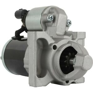 New Starter For Cadillac CTS 6.2L, PMGR; 12-Volt; CW; 10-Tooth; 12619241
