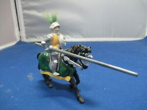 Timpo Knight of Round Table The Green Knight mtd w/lance