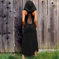 Gothic mix  Dress Women 2018  Vintage Long Sleeve Dresses Party lace up black
