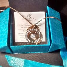 Sterling silver  925 Necklace with swarovski crystals