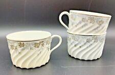Set of 3 Cups, Haviland Limoges, Valmont Pattern