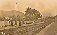 Broughton Railway Station Photo. Stobo - Biggar. Peebles to Symington Line. (4)
