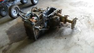 Kubota B8200 4wd manual transmission and rear axle for compact tractor
